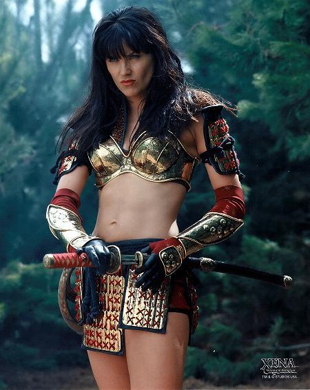 Xena in fantasy armor